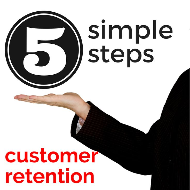 5 Simple Steps to Help You Improve Customer Retention