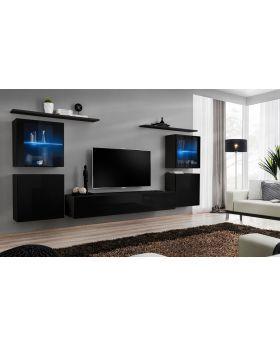 Shift 14 Meuble Tv Haut Salom In 2019 Living Room Wall
