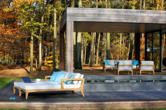 Dering Hall - Buy Zenhit Daybed from Royal Botania - Furniture - Outdoor - Furniture