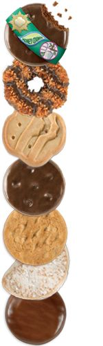 Girl Scout cookies have gone digital! Order them now. (They even have gluten-free Girl Scout cookies now -- the Toffeetastic flavor!)