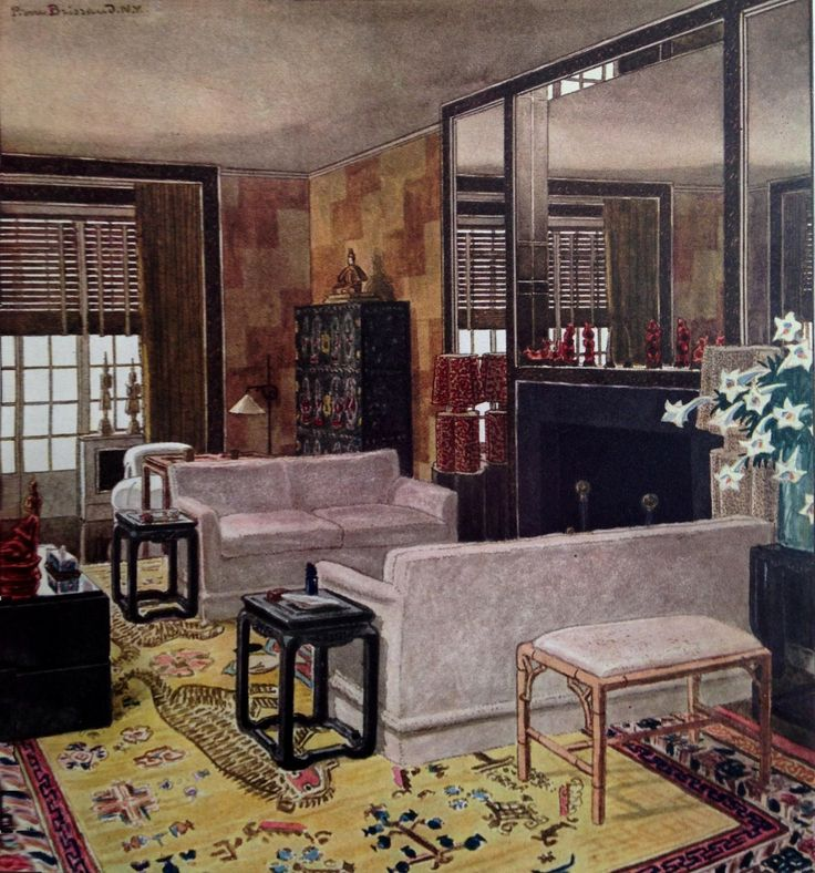 pierre brissaud room in the modern chinese taste decorated by jones erwin