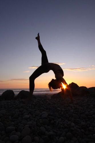 Haute Yoga's Jeanette Pearson