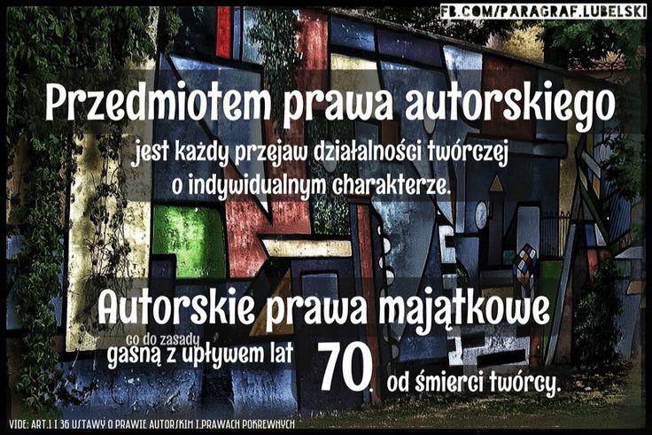 O prawach autorskich i dacie ich wygaśnięcia http://www.adwokat-sarzynski.pl adwokaci Sandomierz Lublin Stalowa Wola Tarnobrzeg