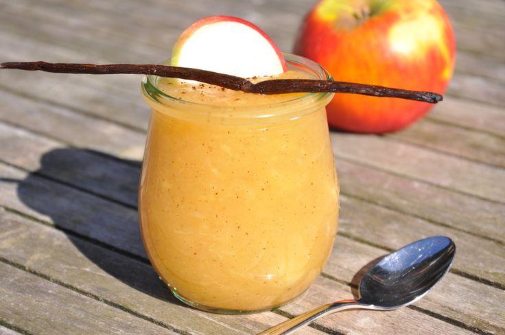 Apfel- Vanillepudding