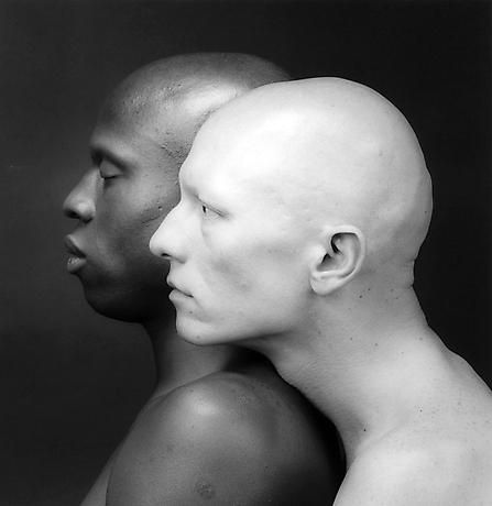 One of Robert Mapplethorpe's best known photographs. It's beautiful in all it's bareness.