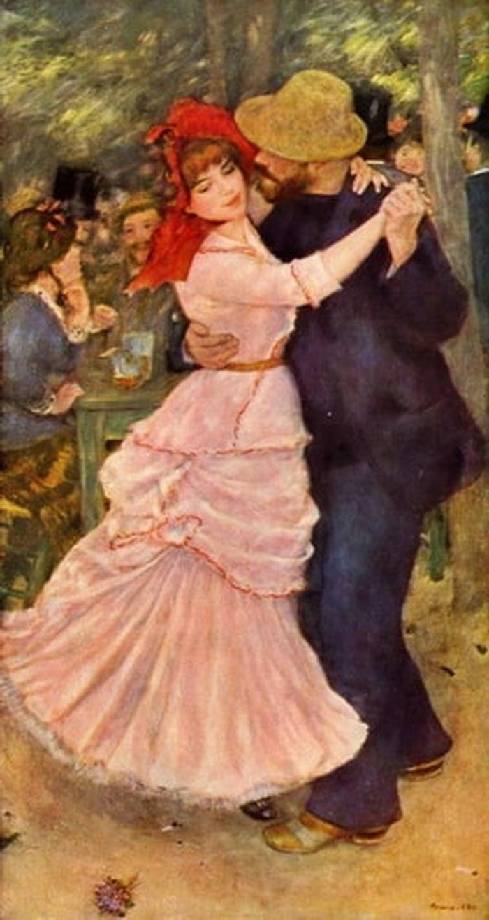 Dance at Bougival  Pierre Auguste Renoir