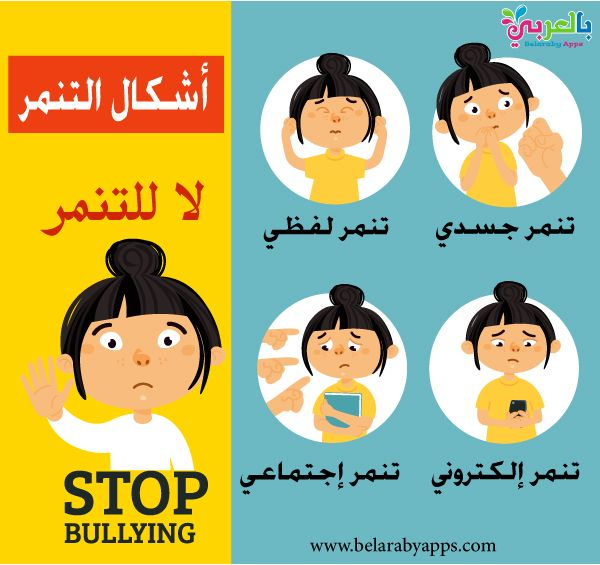 عبارات عن التنمر لاتتنمر لاتعتدي كن صديقا جيدا بالعربي نتعلم Pill Bottle Crafts Baby Smiles Bullying