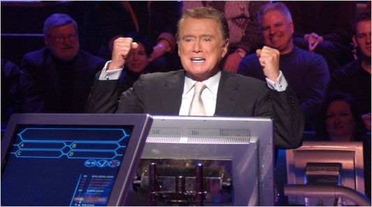 WHO WANTS TO BE A MILLIONAIRE? Game Show hosted by Regis Philbin (1998 - 2007)