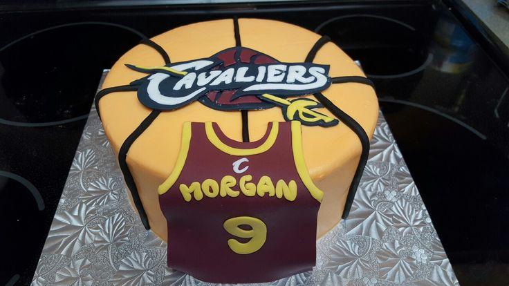 Cleveland Cavs birthday cake