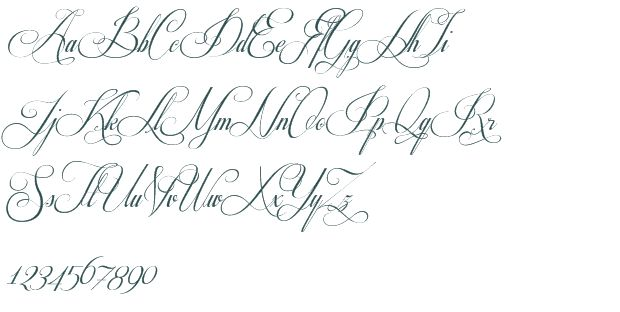 Fancy Cursive Stencils Respective Font Download Free