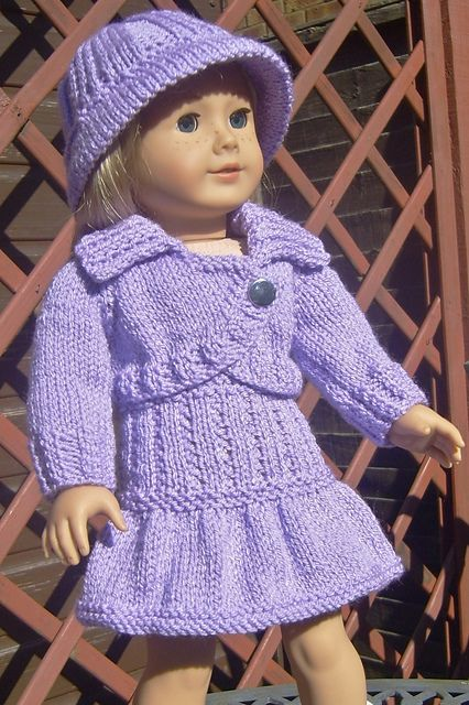 41 Best Knitting American Girl Doll Clothes Images On Pinterest