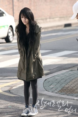 one of my favorite kdrama look -cinderella sister
