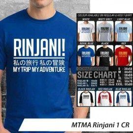 T-Shirt #MTMA #Rinjani 1 CR