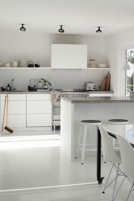 Cucine biance e minimali [top 10]