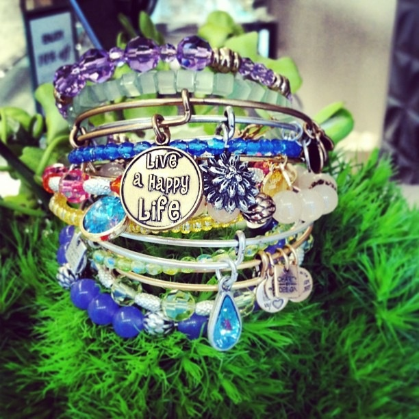 Live a happy life!: Bangle Collections, Alex, Years, Happy Life