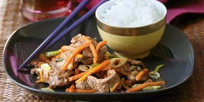 Beef with orange & ginger recipe - 9Kitchen