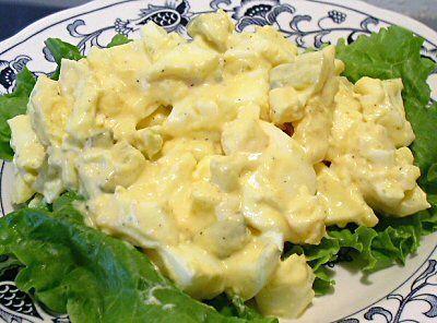 Egg Salad 4 Hard Boiled Eggs Chopped 1 4 Cup Mayonnaise 1 Ounce
