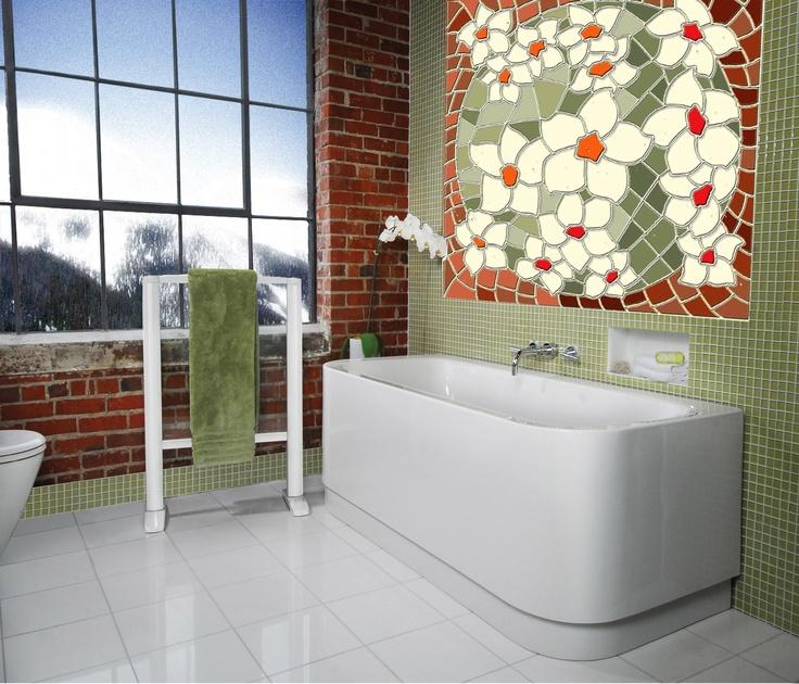 Mosaic bathroom | Bathrooms | Pinterest | Mosaic bathroom