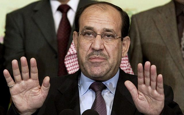 "Iraq vice president warns against 'second Israel' in Kurdistan. As referendum nears, Nouri al-Maliki says a country set up on a religious or ethnic base, like the Jewish state, would be 'unacceptable'. An Iraqi vice president warned Sunday that Baghdad would not tolerate the creation of ""a second Israel,"" after the Jewish state became the only country to support a planned Kurdish independence referendum in northern Iraq."
