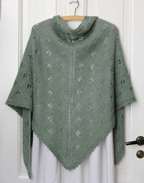 Noget tyder på, at sjalet er populært, og det er både hyggeligt at strikke og dejligt i brug. Let, blødt og lunt på en lunefuld sommeraften (og resten af året) og lige til at rulle sammen og have med i tasken. Og så er sjalet lige fint til den pyntede sommerkjole og de seje jeans. Sjalet her strikkes i en…
