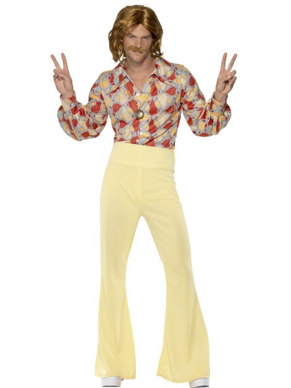Hippieskjorte og slengbukse for voksne | Festmagasinet Standard
