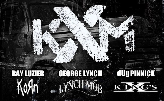 KXM is an American hard rock band formed in 2013, consisting of Korn drummer Ray Luzier, King's X bassist/vocalist dUg Pinnick and Lynch Mob/ex-Dokken guitarist George Lynch. #Music #RockMusic #KingsX #DougPinnick #GeorgeLynch