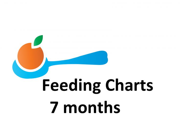 Food Chart For A Seven Month Old Baby