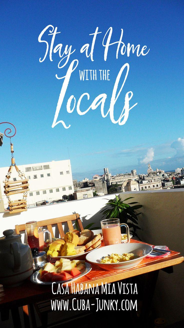Casa Habana Mia Vista in Old Havana - Habana Vieja Cuba. Stay at home with the locals #casaparticular
