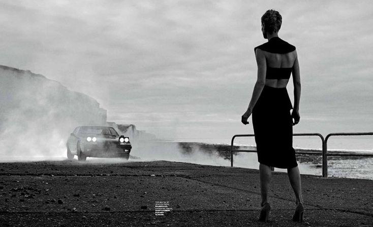 Saskia de Brauw Joins Daft Punk in M le Monde Shoot by Peter Lindbergh