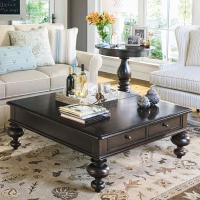 Paula Deen Home Put Your Feet Up Coffee Table with Lift Top & Reviews | Wayfair