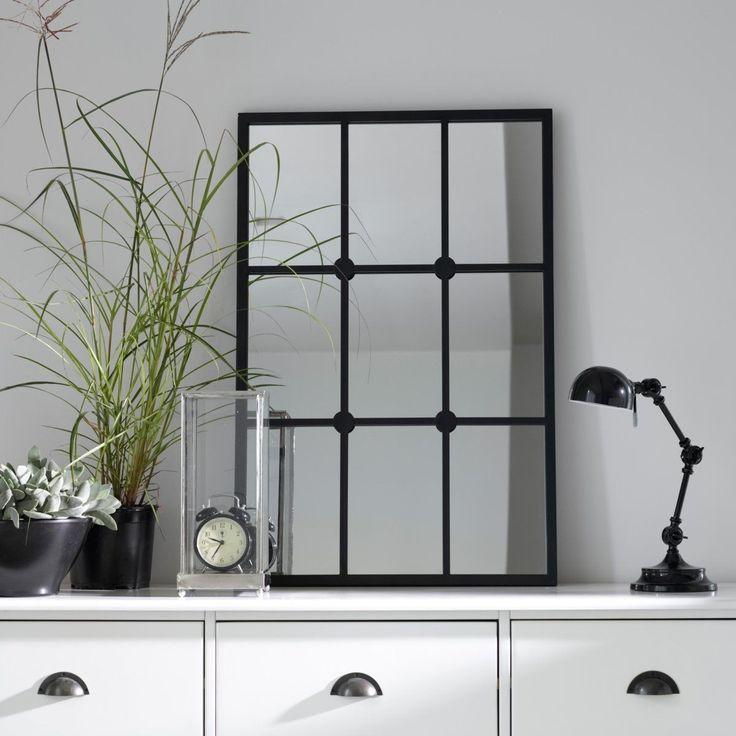 Miroir Style Fenêtre, Lenaig – Taille : Taille Unique