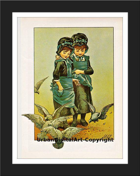 Vintage Childrens ArtDownloadable print from by UrbanDigitalArt, $5.95