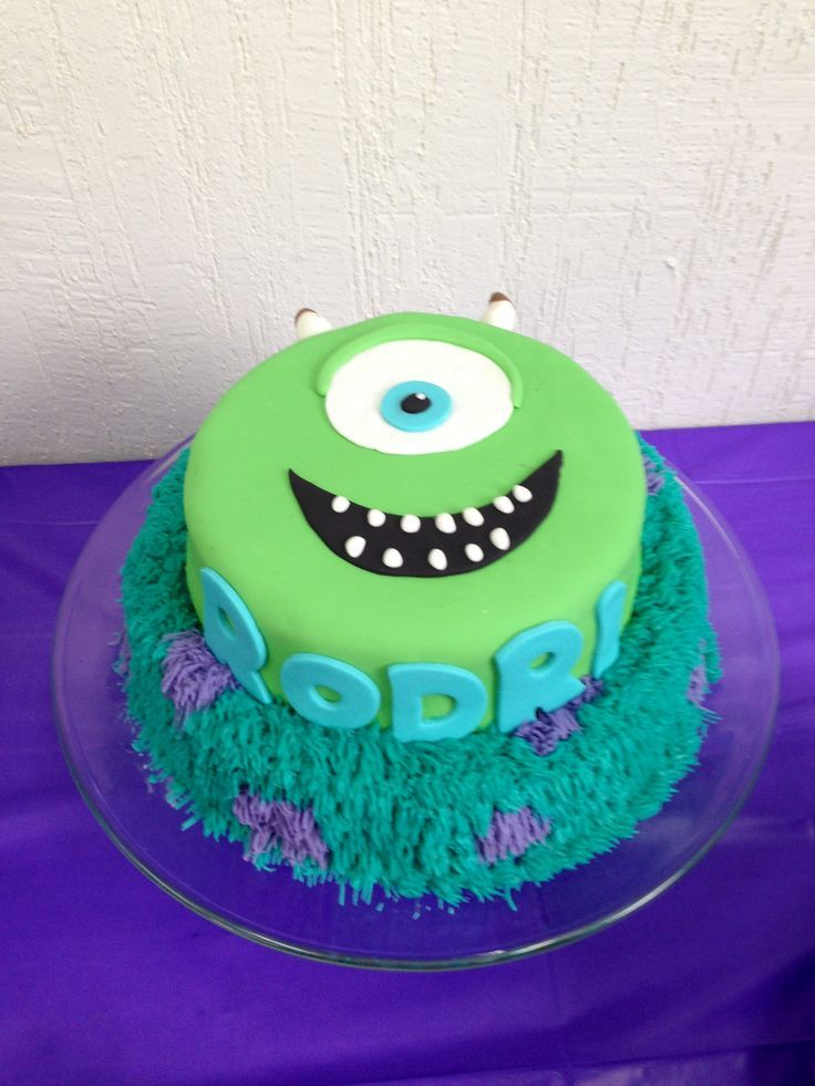monster university cake - Buscar con Google