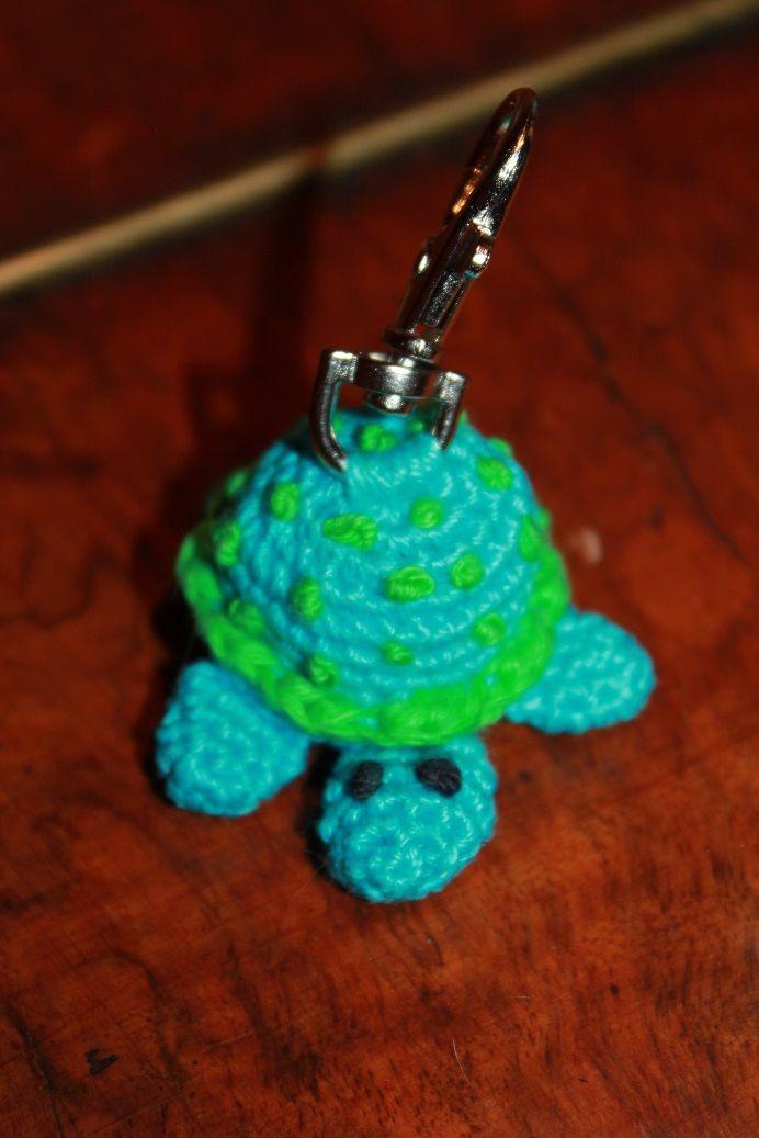 Schlüsselanhänger Schildkröte <3