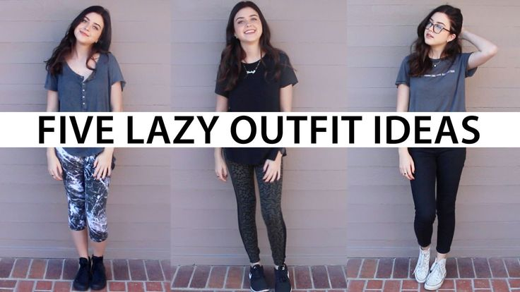 lindseyrem // 5 go-to lazy outfits