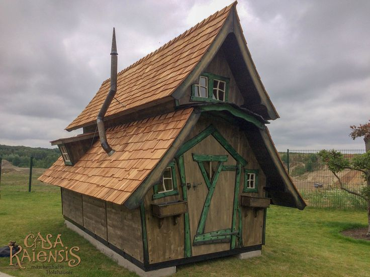 Kato Lungo Fairy houses, Backyard playhouse, House styles