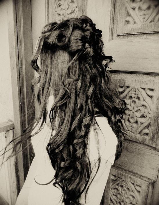 Brauthaar Inspiration | #Hairies # Hairdressers50sJahre # Hairdressers80sJahre # Hairdressers90sJahre