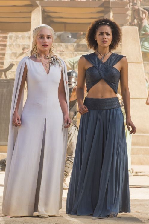 Missandei and Daenerys Targaryen | Game of Thrones 5.09 (x)