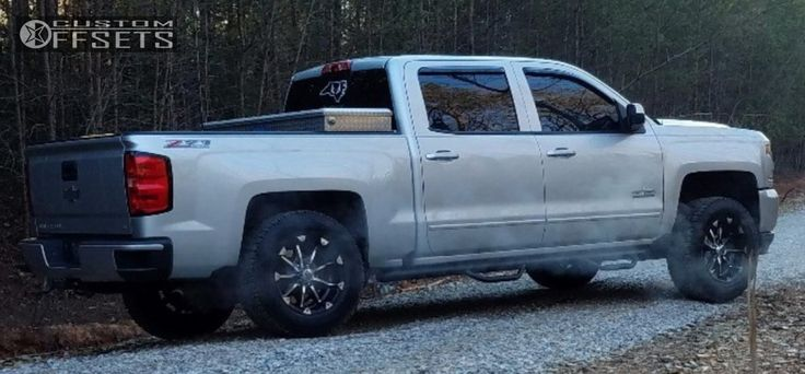 4 2016 Silverado 1500 Chevrolet Leveling Kit Xd Badlands Machined Accents Aggressive 1 Outside Fender