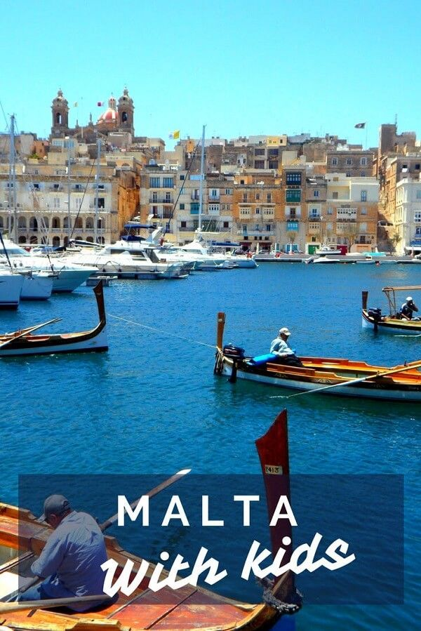 Top 7 family friendly attractions in Malta