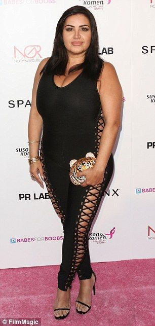 Transformation: Shahs of Sunset's Mercedes 'MJ' Javid, 44, revealed her weight loss journey progress on Tuesday, revealing she has lost 15 pounds. She is pictured here on June 8