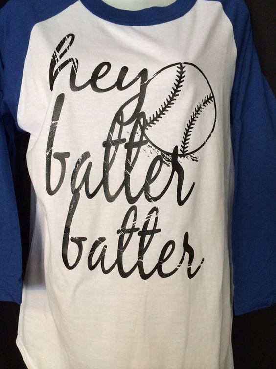 Hey batter batter baseball t shirt