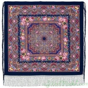Multicolor woolen shawl for women