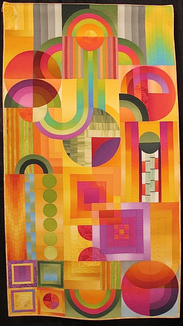 Technicolor Deco by Shirley Gisi