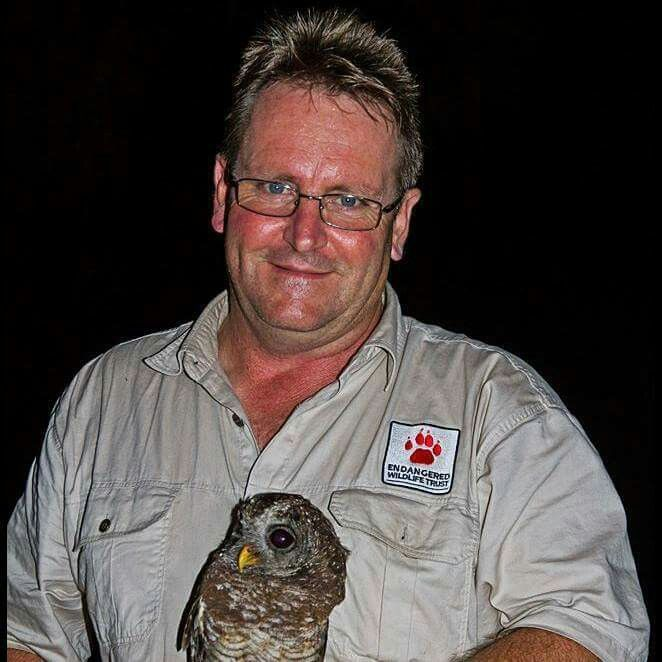 Andre Botha - Manager Birds of Prey at Endangered Wildlife Trust - field trip to Kruger National Park  photos - www.ewt.org.za