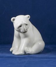 Lladro figurine POLAR BEAR SEATED #1209  no box