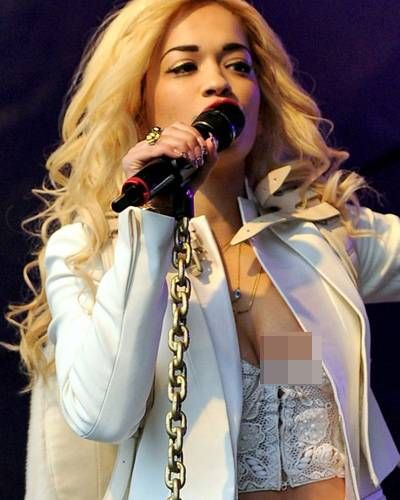British singer-songwriter and actress Rita Ora recently had an oops moment when she unintentionally showed the audience a little bit more than she wished for whilst performing at London's Lovebox festival.