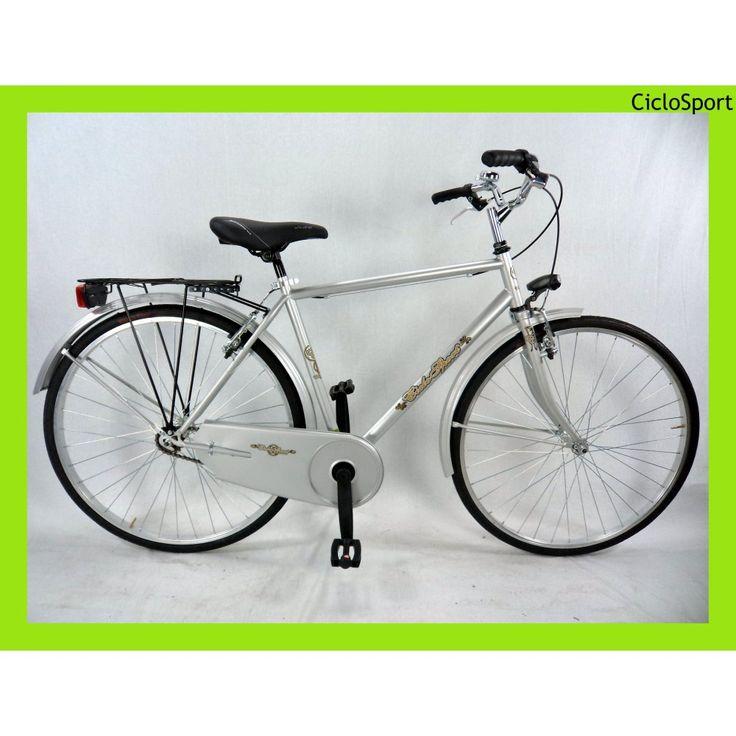 Bicicletta uomo Olanda 28 CicloSport - Grigia