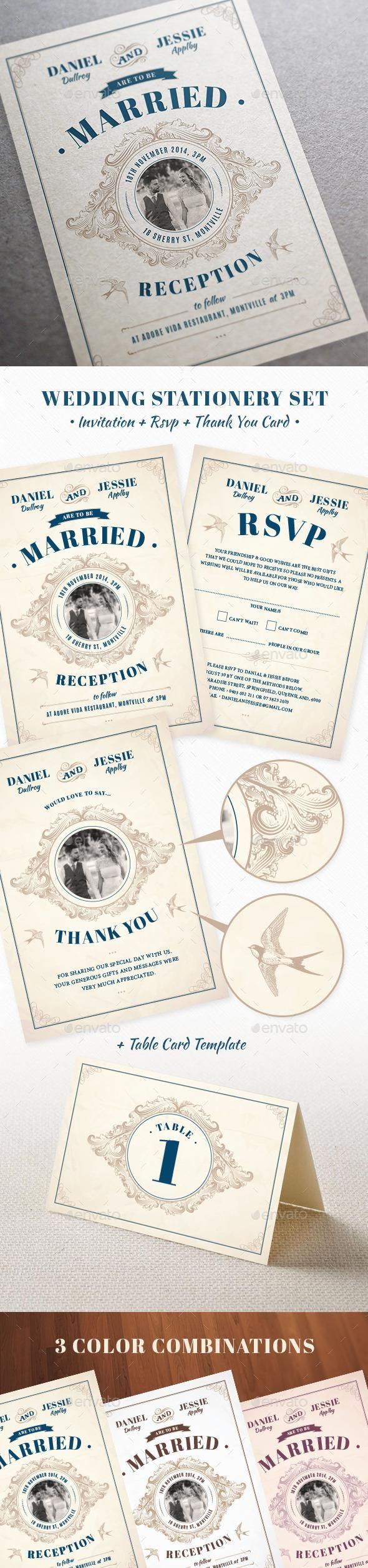 Wedding Invite  #template #cards #print #invites