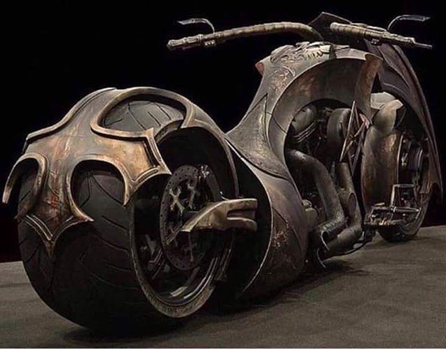 Behemoth Bike by Game Over Cycles #steampunktendencies #steampunk #art #bike
